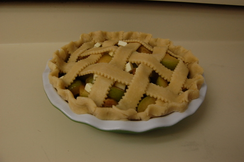 Greengage Pie