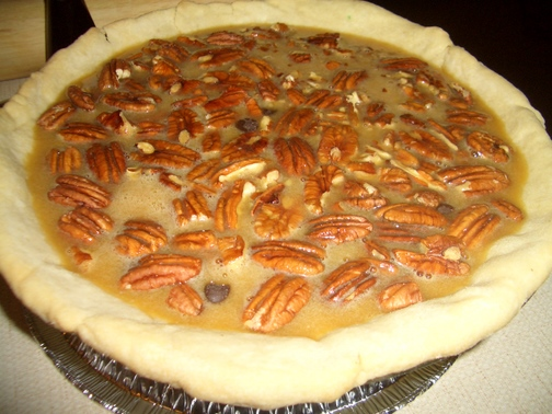Pieadaycom Jack Daniels Chocolate Chip Pecan Pie